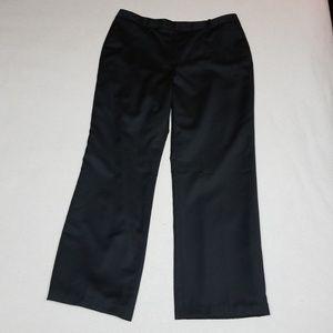 Brooks Brothers Women's Black Wool Trousers Sz 16
